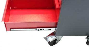 werkstattwagen mit arbeitsplatte und stauraum von sk tools. Black Bedroom Furniture Sets. Home Design Ideas