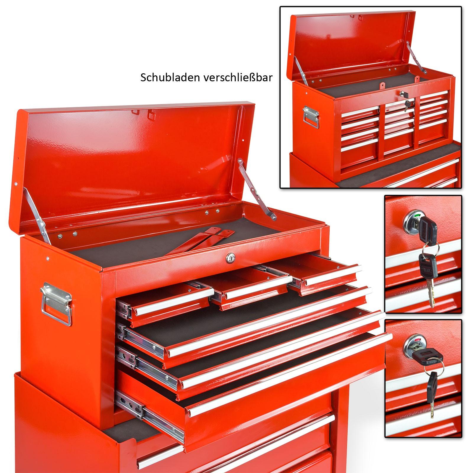 werkstattwagen mit 6 schubladen jetzt bei sk tools g nstig kaufen. Black Bedroom Furniture Sets. Home Design Ideas