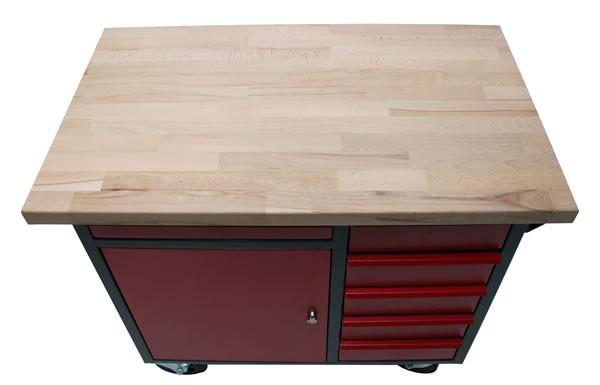 werkstattwagen mit arbeitsplatte g nstig kaufen bei sk tools. Black Bedroom Furniture Sets. Home Design Ideas