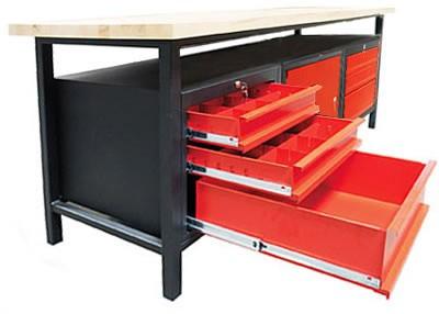 profi werkbank 6 schubladen g nstig kaufen im sk tools shop. Black Bedroom Furniture Sets. Home Design Ideas
