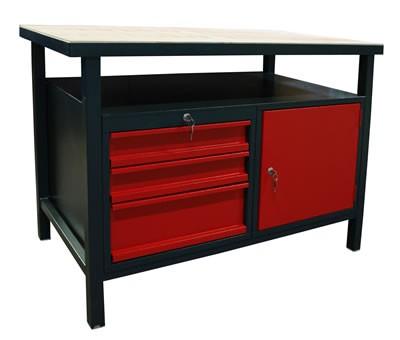 Werkbank mit 3 Schubladen günstig kaufen im SK Tools Shop