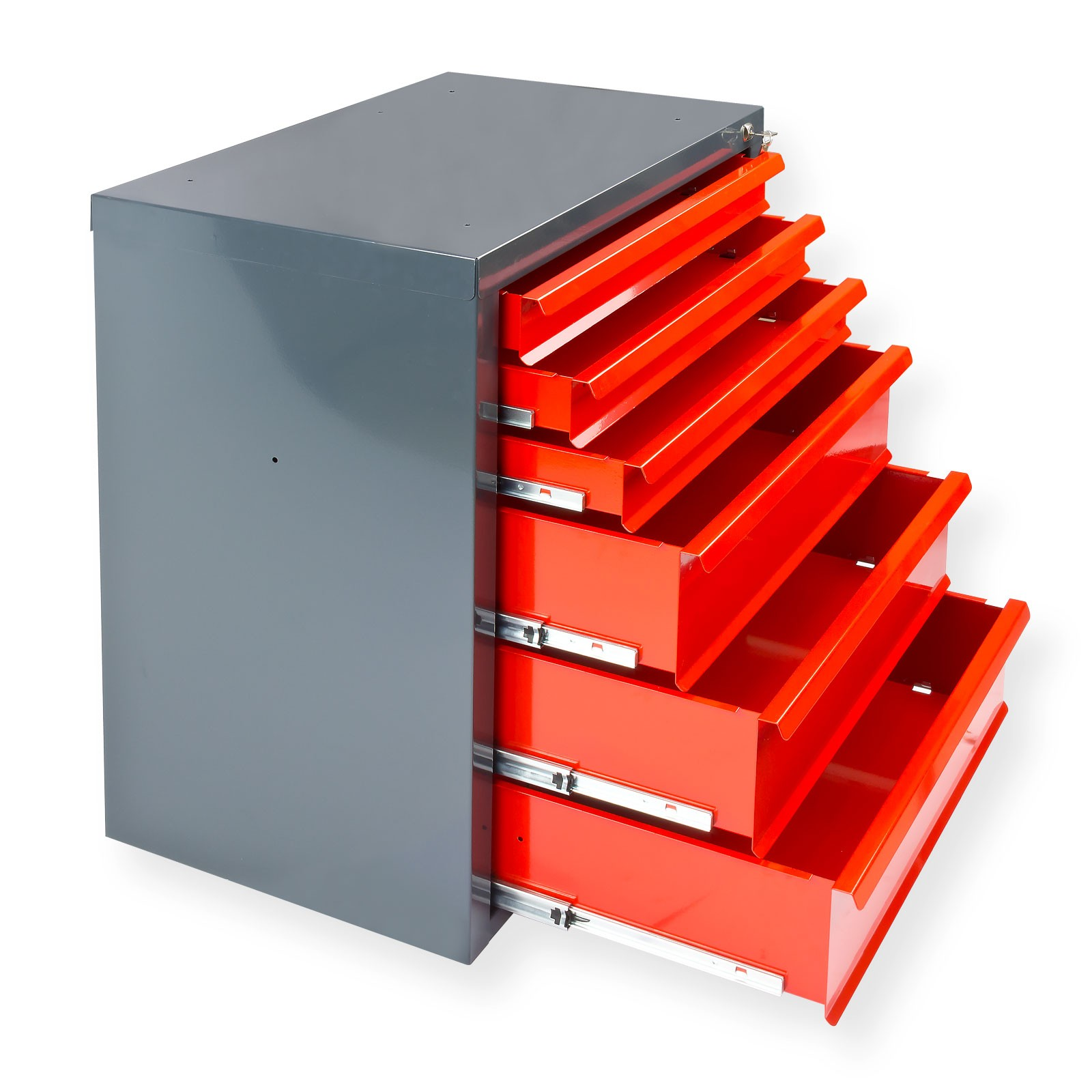 werkzeugschrank mit 6 schubladen g nstig kaufen kfz werkstattausr stung. Black Bedroom Furniture Sets. Home Design Ideas